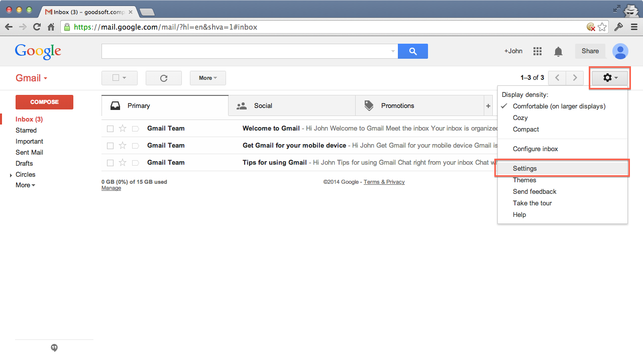 How to Forward Gmail picture
